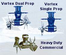 wesmar bow thrusters stern thruster vortex single prop dual prop and commercial marine bow thrusters