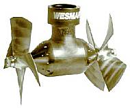 bow thrusters stern thruster commercial marine applications wesmar tunnel style