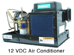 marvair seamach marine air conditioners, boat air conditioners, heaters, battery operated air conditioner, 12 volt ac, green ac, energy efficient air conditioner, and more
