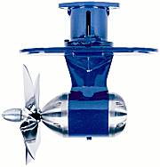 bow thrusters, stern thruster, single prop