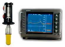 wesmar sonar with transducer fish finder salvage treasure hunting fish finding object location side scan trawler sonars
